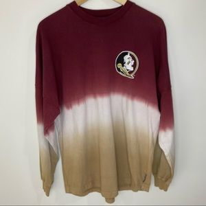 Florida State University Ombre Tie-Dye Shirt Small